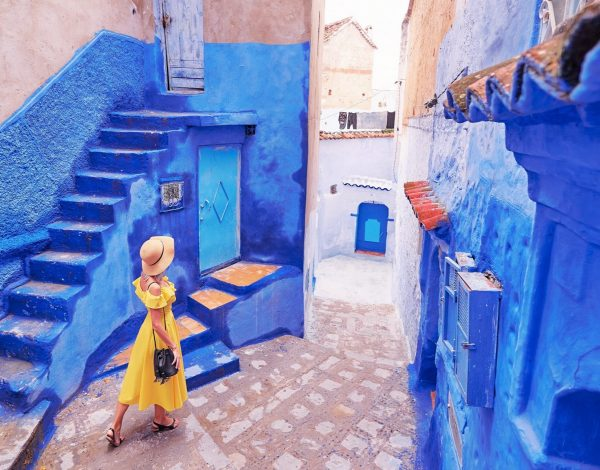 Szafszawan – błękitne miasto zInstagrama