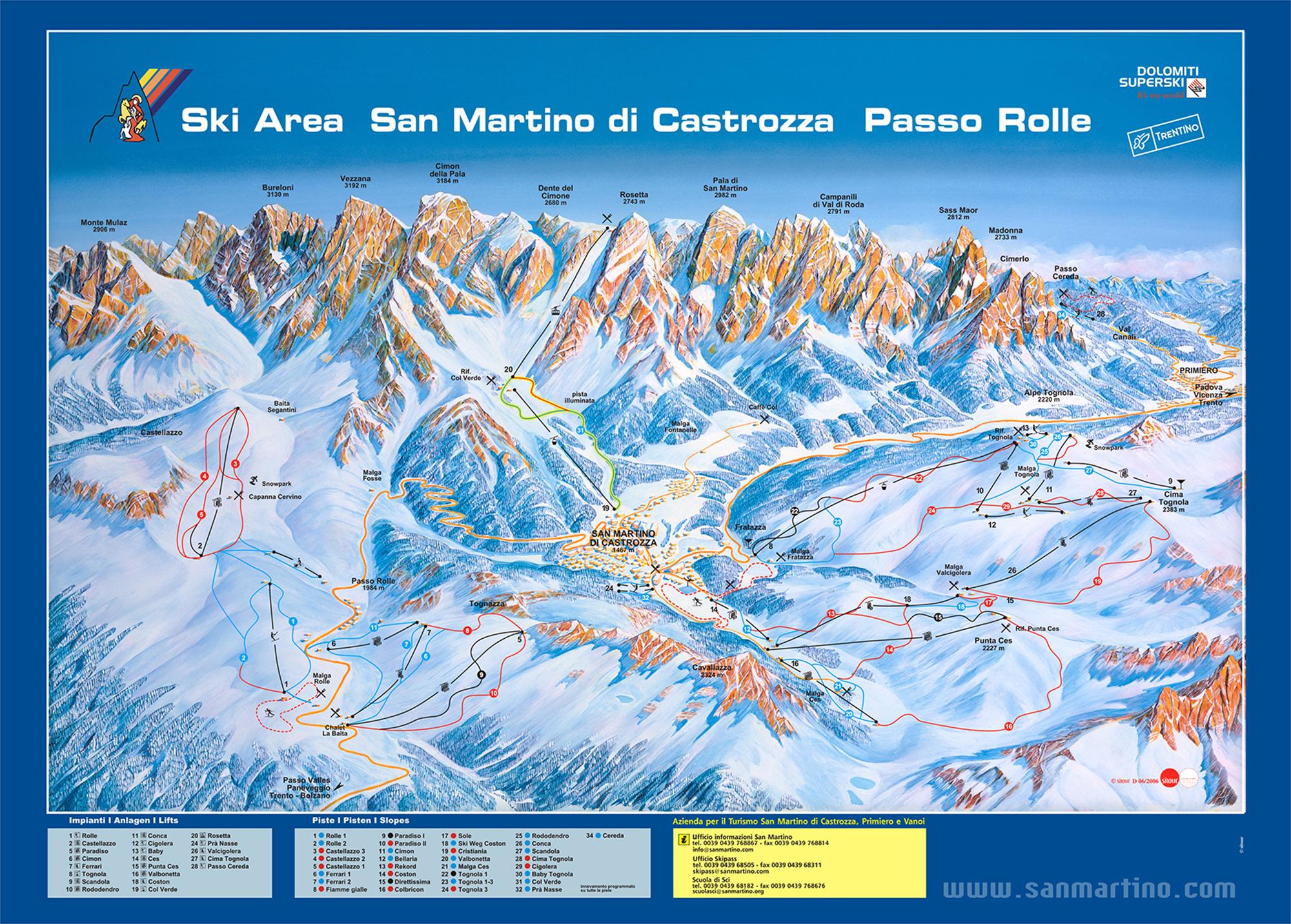 San Martino di Castrozza Italy ski holiday 2017 holidays