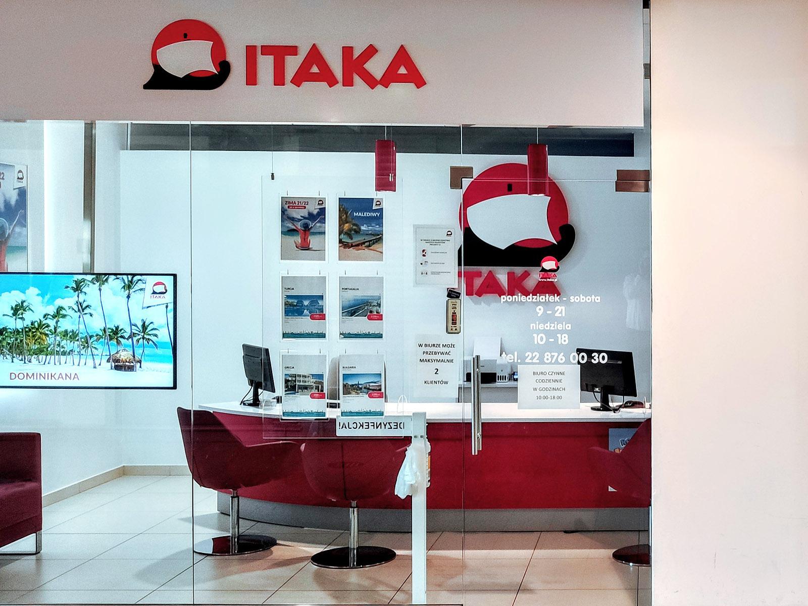 Biuro Podróży Itaka Ch Tesco Ul Górczewska 212 226 Warszawa Itaka