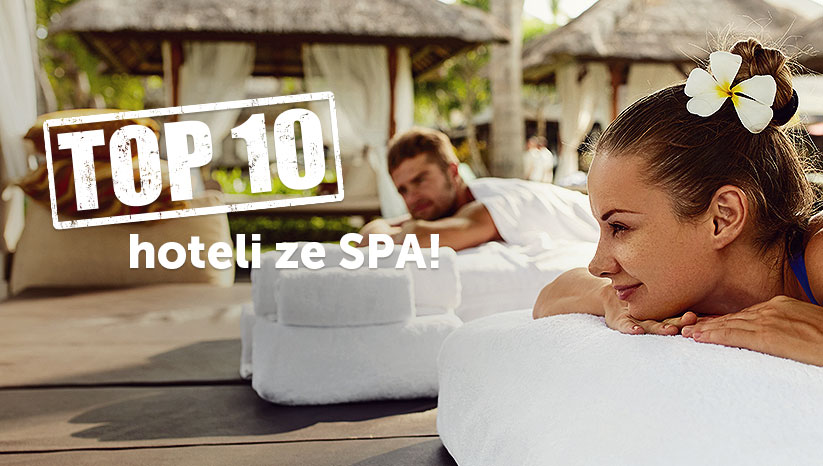 Top 10 hoteli ze SPA