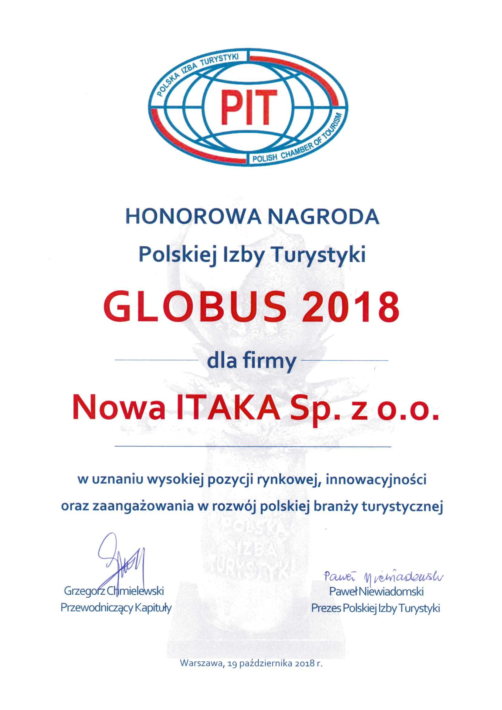 ac24110e5f6c30 Nagrody i wyróżnienia   ITAKA