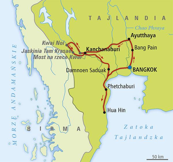 tajlandia mapa Sawasdee Tajlandia!   Tajlandia   Wycieczki, Opinie | ITAKA
